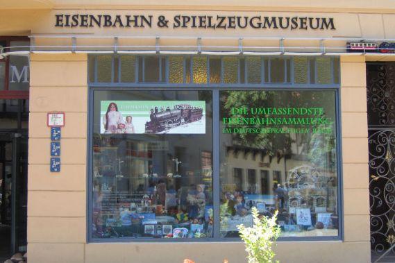 Eisenbahn-Spielzeug-Museum