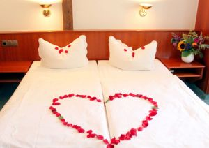 Double Room with a heart